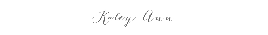 Kaley Ann Photography logo