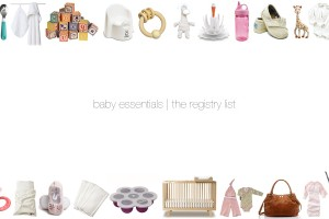Baby Essentials | The Registry List