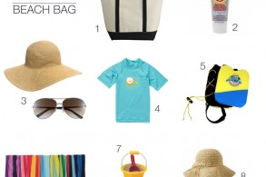 kid's summer essentials for the beach