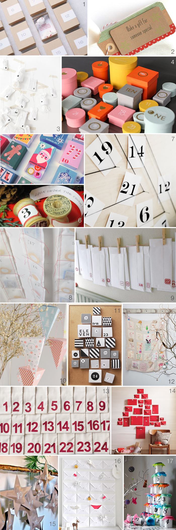 DIYAdventCalendars DIY Advent Calendars