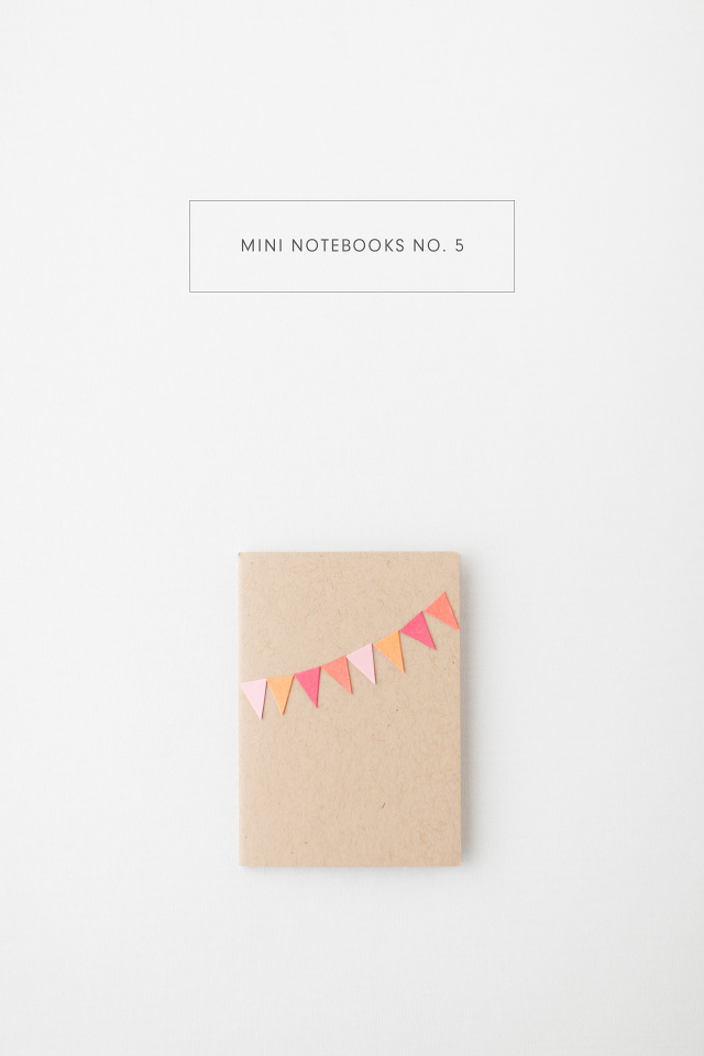 Mini Notebooks - May