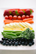 A Rainbow of Fruits & Vegetables