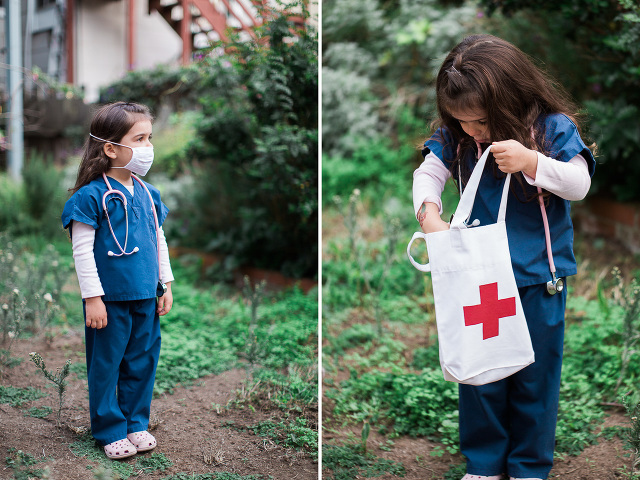 Dr. costume for kids