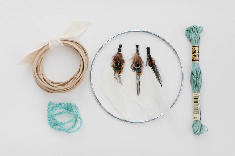 How To Make A Simple DIY Dreamcatcher Kaley Ann Stunning How To Build A Dream Catcher