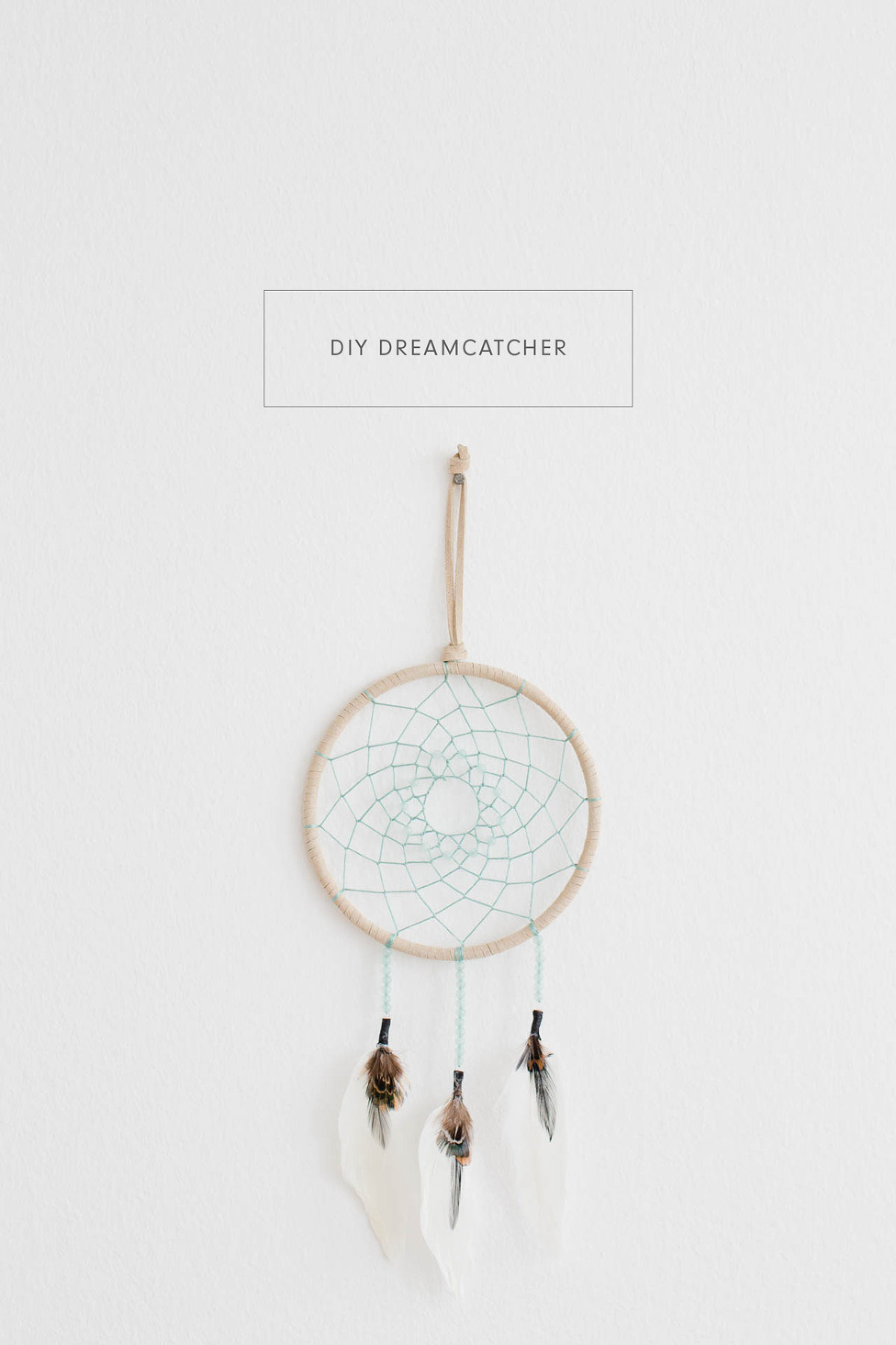 how to make a simple diy dreamcatcher