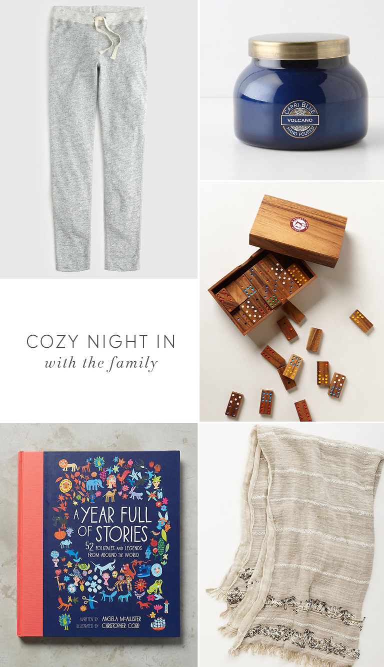 My Favorite Things For a Cozy Night at Home | Kaley Ann