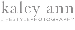 Kaley Ann Lifestyle Photography logo