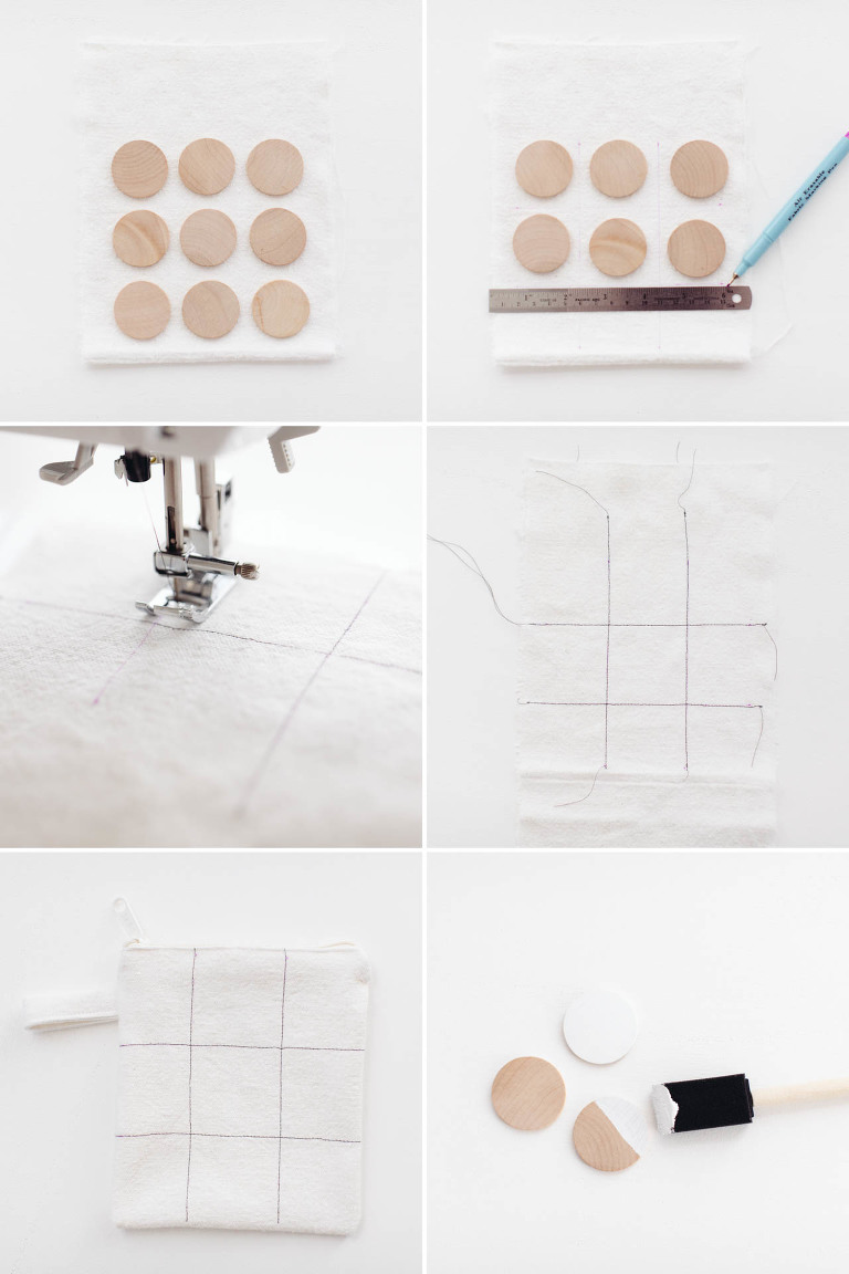 DIY Tic Tac Toe in a Bag